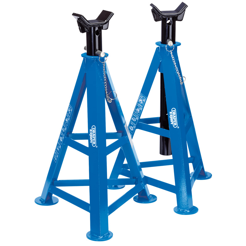 Pair Of Draper 6 Tonne Axle Stands